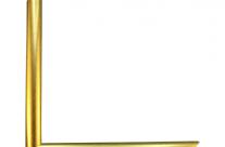 Moldura com acabamento dourado 0002