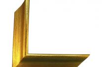 Moldura com acabamento dourado 0011